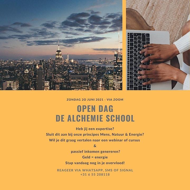 Afbeelding van Open Dag - De Alchemie School