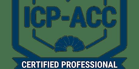 Agile Coaching  ICP-ACC ICAgile - english tickets
