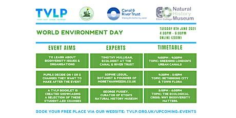 TVLP World Environment Day webinar tickets