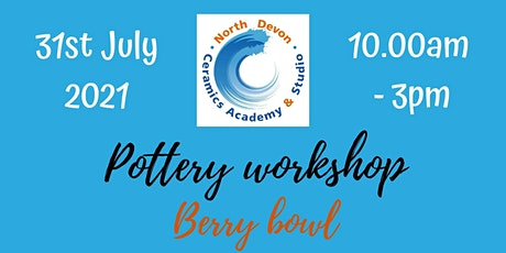 Pottery workshop tickets