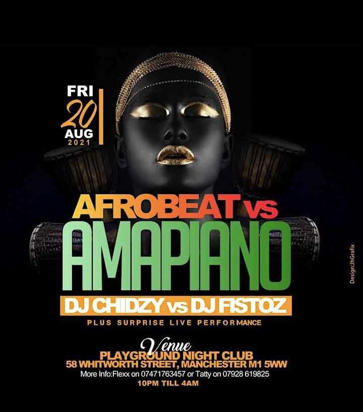 Amapiano vs Afrobeats image