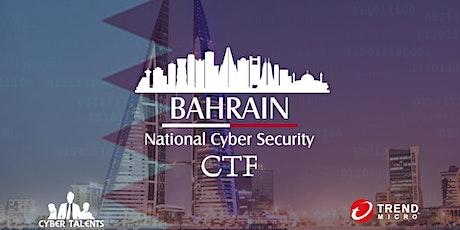 Bahrain National Cybersecurity CTF 2021 biglietti