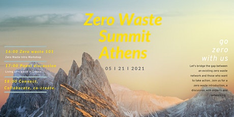 Zero Waste Summit Athens tickets