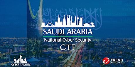 Saudi Arabia National Cybersecurity CTF 2021 tickets