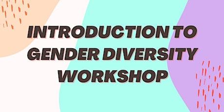 Introduction to Gender Diversity Workshop bilhetes