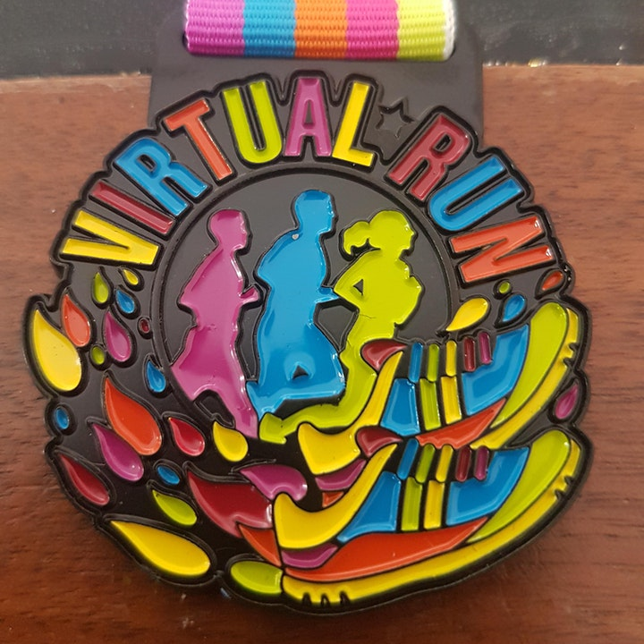 Virtual 5/10 Mile May Walk/Jog/Run Challenge image