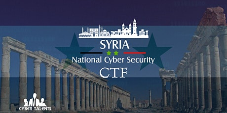 Syria National Cybersecurity CTF 2021 tickets