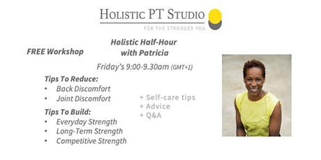 Holistic Half-Hour with Patricia tickets