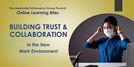 Building Trust & Collaboration (Online - Run 15) tickets