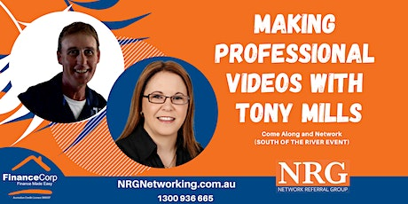 Making Professional Mobile Phone Videos with Tony Mills tickets