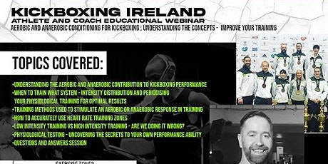 Aerobic & Anaerobic Conditioning for Kickboxing tickets