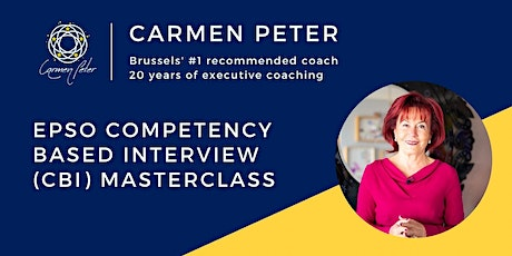 EPSO Competency Based Interview (CBI) Masterclass tickets