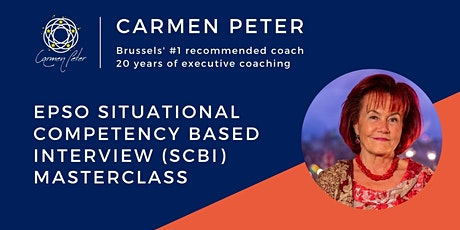 EPSO Situational Competency Based Interview (SCBI) Masterclass tickets