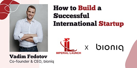 How to Build a Successful International Startup tickets