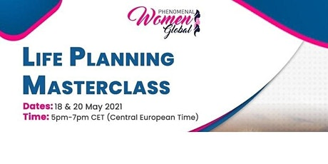 Masterclass: Life Planning, Financial Planning tickets