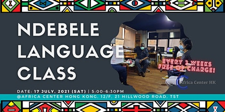 Ndebele Language Class tickets