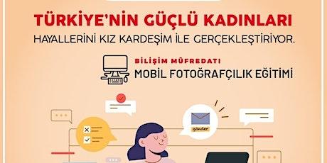 Mobil Fotoğrafçılık Eğitimi tickets