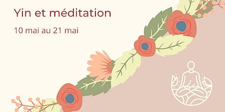 Yin et méditation | Pour une meilleure conscience de soi billets