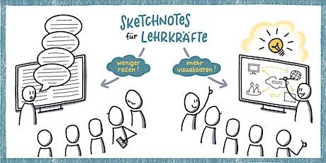 Lebendig Visualisieren in der Schule - Sketchnotes für Lehrkräfte (Basics) Tickets