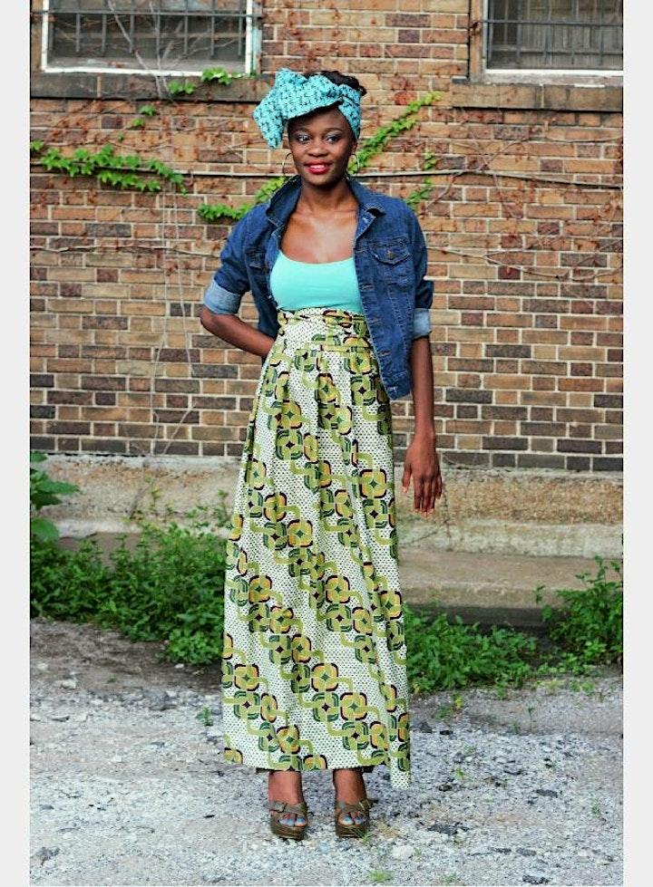Ankara Skirt  Sip and Sew image
