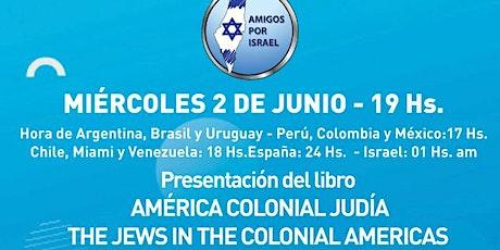 AMERICA COLONIAL JUDIO tickets