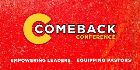 Comeback Conference tickets