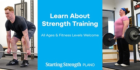 Strength Assessment & Info Session at Starting Strength Plano tickets