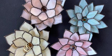 2 Session Stained Glass 3D Flower with Patti Di Florio (Tuesday Evening) tickets