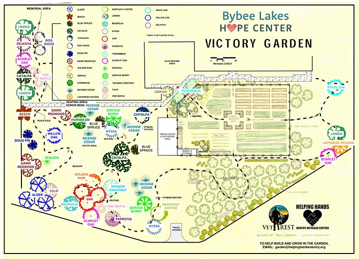 Bybee Lakes Victory Garden Party with VetREST & Helping Hands image