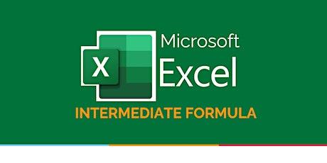 Excel Intermediate Formula tickets