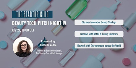 Beauty Tech Pitch Night Tickets
