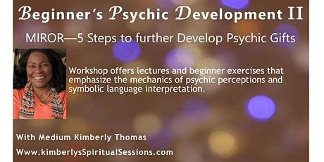 Beginners Psychic Development II tickets