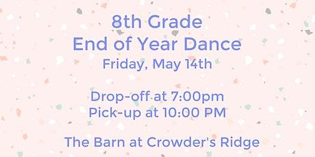 8th Grade Dance tickets