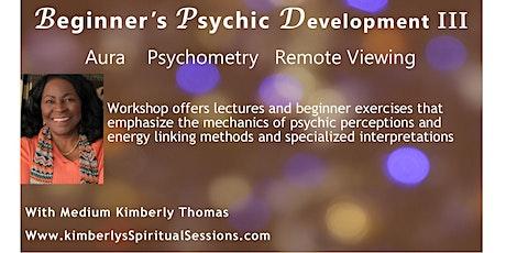 Beginners Psychic Development III tickets
