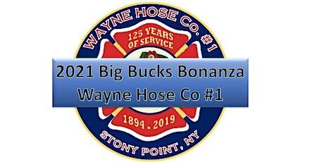 2021 Big Bucks Bonanza tickets