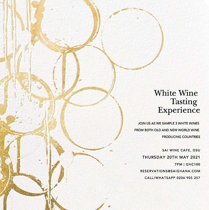 White Wine Tasting Experience image