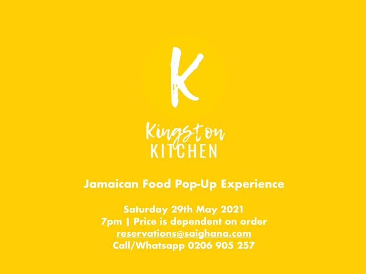 Jamaican Food Pop-Up Experience with Kingston Kitchen image