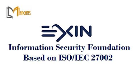 Information Security Foundation ISO/IEC 27002 Training in Fairfax, VA tickets