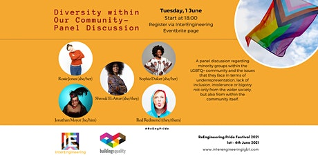 ReEng Pride 2021:  Diversity within Our Community tickets