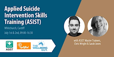 Cardiff | ASIST: Applied Suicide Intervention Skills Training (July 2021) tickets