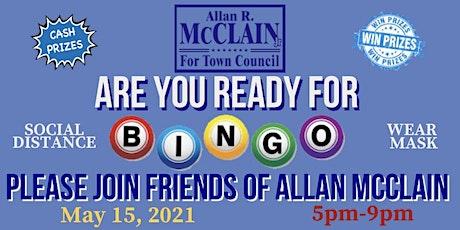 Friends of Allan McClain Present Bingo Night tickets