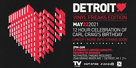 Detroit Love - 12 Hour Celebration of C2'S Birthday @ TV Lounge - 5/22/21 tickets