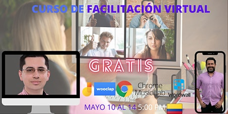 Curso de facilitación y capacitación virtual boletos