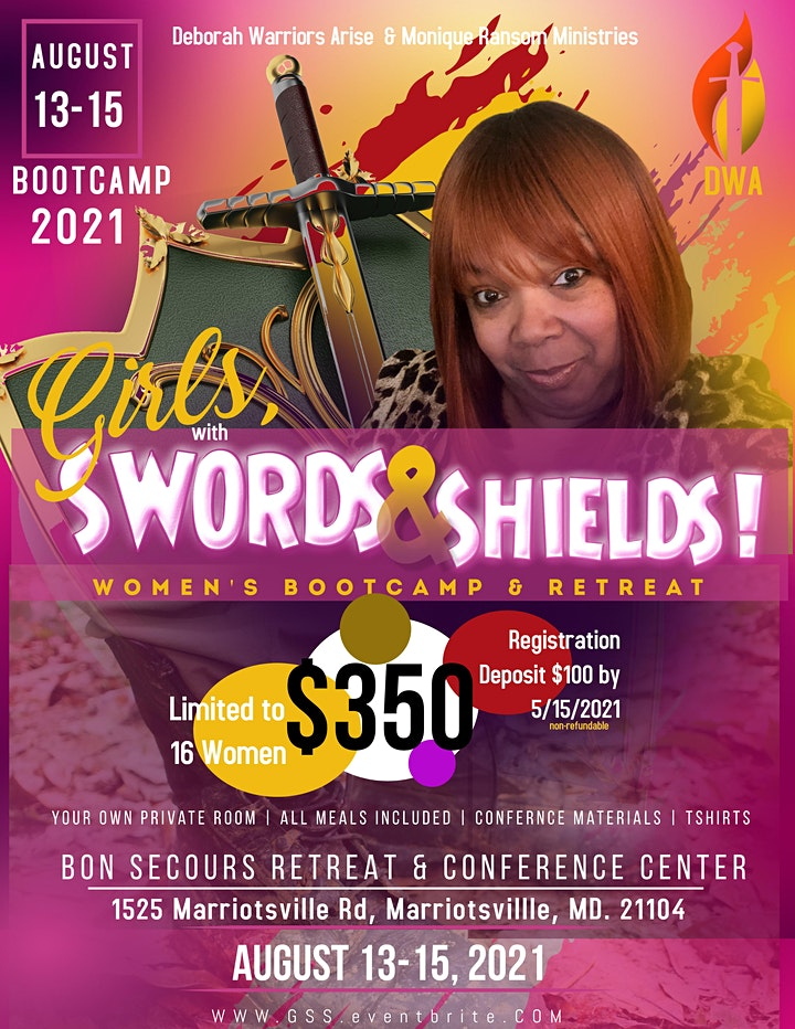 GIRL'S with SWORDS & SHIELDS BOOTCAMP & RETREAT! image