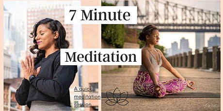 7 Minute Meditation tickets