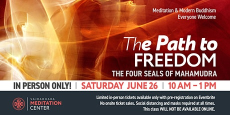 The Path to Freedom IN-PERSON ONLY 06/26/21 tickets