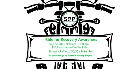 Ride for Recovery Awareness 2021 tickets
