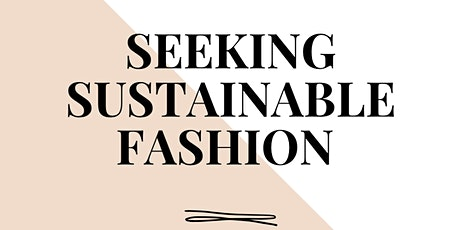 Fashion & Sustainability tickets