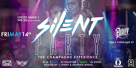 Silent Party The Champagne Experience tickets