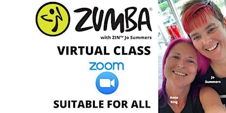 Monday 6pm Virtual Zumba®️ with ZIN™️ Jo Summers tickets